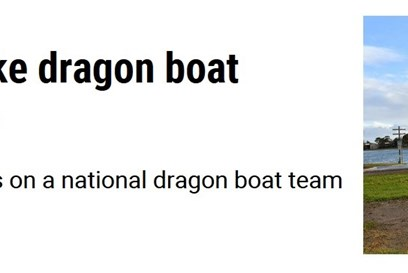 Three youngsters have made history becoming the first SA juniors to make a national dragon boating team